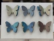 Slanchogled handmade card butterflies